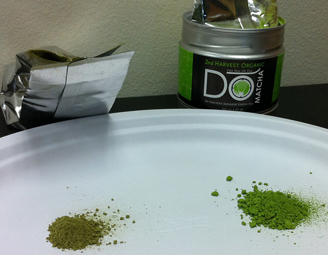DoMatcha vs generic matcha powder