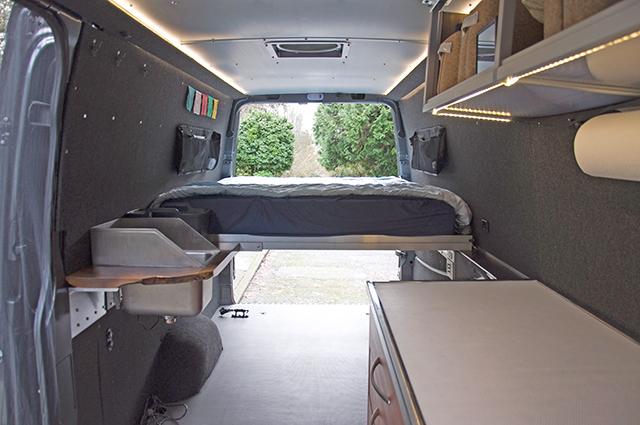 4x4 Sprinter Camper Van DIY Conversion